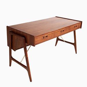 Vintage Teak Desk by Arne Wahl Iversen