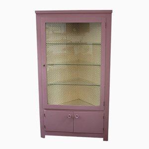 Vintage Corner Display Cabinet, 1920s