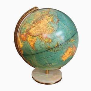 Vintage Illuminated Globe, 1950s