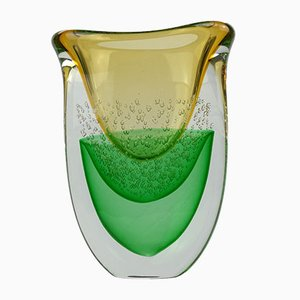 Galassia Vase in Murano Glass by Valter Rossi