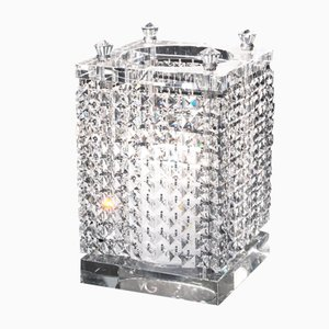 Large Square Crystal Nefertari Candle Holder by Giorgio Tesi for VGnewtrend