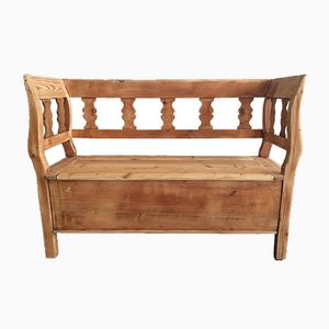 Antique Chest Bench