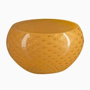 Scodella Mocenigo in vetro di Murano arancione e oro di Marco Segantin per VGnewtrend
