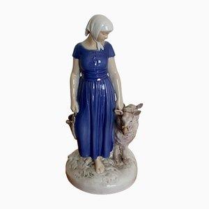 Pastorale Vintage Figurine von Bing & Grøndahl