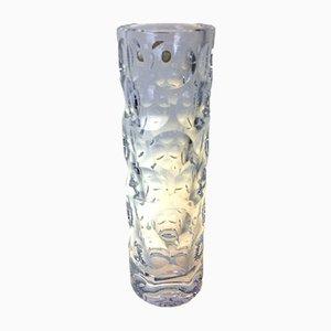 Vase Op Art Vintage de Waldglashütte Bodenmais, 1960s