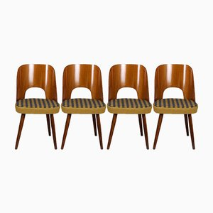 Chaises de Salon par Oswald Haerdtl pour Tatra, 1960s, Set de 4