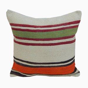 Funda de cojín Kilim marroquí de Vintage Pillow Store Contemporary, década del 2010
