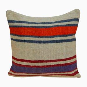 Französischer Kelim Kissenbezug aus einem Getreidesack von Vintage Pillow Store Contemporary, 2010er