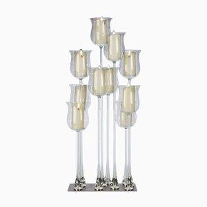 Linearer 10-teiliger Kerzenständer mit Magnetsystem von Marco Segantin für VGnewtrend