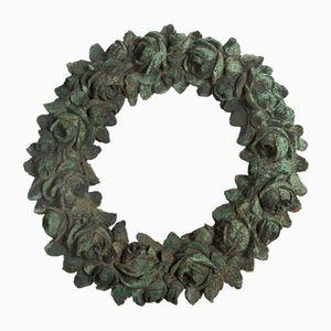 Guirnalda decorativa de bronce, siglo XIX