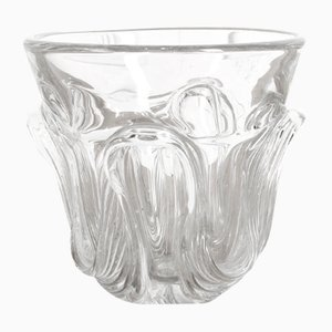 Glass Vase from Val Saint Lambert, 1930s