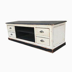 Vintage Industrial TV Cabinet