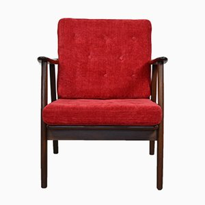 Mid-Century Scandinavian Teak Lounge Chair, 1960s
