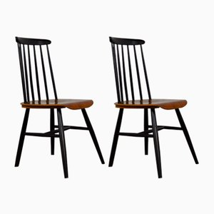 Fanett Style Chairs 1960s, Set of 2