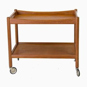Teak AT-45 Trolley by Hans J. Wegner for Andreas Tuck, 1950s