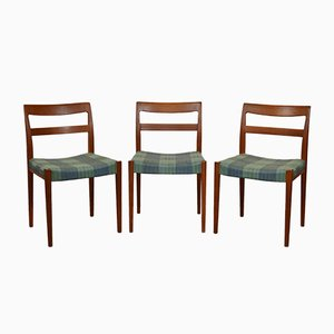 Vintage Model Kontiki Chairs by Yngve Ekström for Hugo Troeds, 1960s, Set of 3