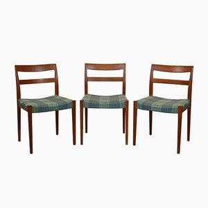 Vintage Modell Kontiki Stühle von Yngve Ekström für Troeds, 1960er, 3er Set