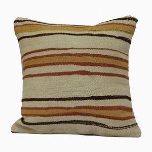 Grainsack Wool Kilim Pillow Cover from Vintage Pillow Store Contemporary