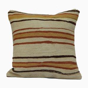 Kelim Grainsack Kissenbezug aus Wollteppich vonVintage Pillow Store Contemporary