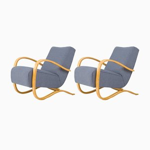 H-269 Lounge Chairs by Jindřich Halabala, 1930s, Set of 2