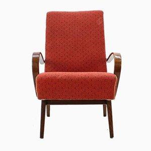 Sessel mit Gestell aus Bugholz von TON, 1960er