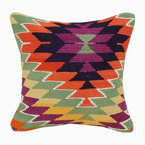Orange Kilim Pillow Cover from Vintage Pillow Store Contemporary