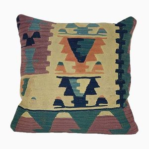 Tree of Life Kilim Cushion Cover from Vintage Pillow Store Contemporary, 2010s