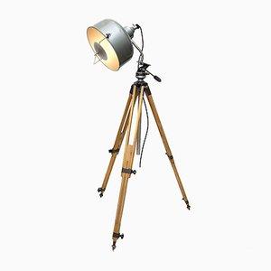 Industrielle Stehlampe von Jupiterlicht, 1940er