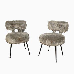 Chaises de Cheminée Vintage, Set de 2