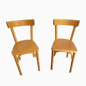 Vintage Esszimmerstühle von Baumann, 1990, 2er Set