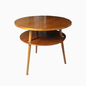 Round Mid-Century Czech Coffee Table, 1960s