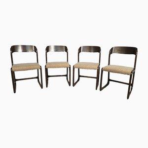 Chaises Sled Vintage de Baumann, Set de 4
