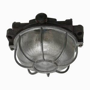 Industrielle Vintage Deckenlampe aus Bakelit