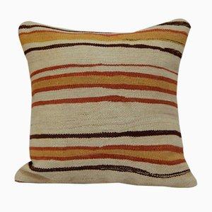 Housse de Coussin Kilim Brodée à la Main de Vintage Pillow Store Contemporary