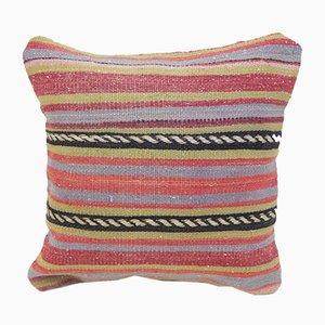 Türkischer Kelim Kissenbezug aus Teppichstoff von Vintage Pillow Store Contemporary, 2010er