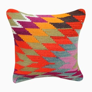 Diamond Pattern Kilim Cushion Cover from Vintage Pillow Store Contemporary, 2010s