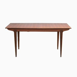 Scandinavian Teak Extendable Dining Table, 1960s