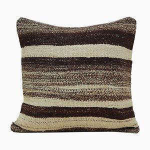 Housse de Coussin Torchon Rayé de Vintage Pillow Store Contemporary, 2010s
