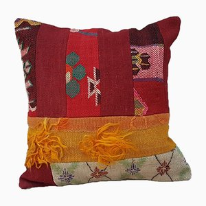 Patchwork Kilim Cushion Cover from Vintage Pillow Store Contemporary, 2010s
