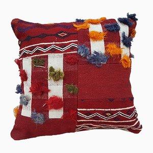 Federa Kilim patchwork di Vintage Pillow Store Contemporary, Turchia, inizio XXI secolo
