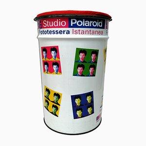 Polaroid Studio Aufbewahrungshocker, 1970er
