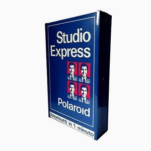 Express Polaroid Schild, 1980er