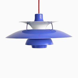 Lámpara PH5 Pendulum vintage de Poul Henningsen para Louis Poulsen