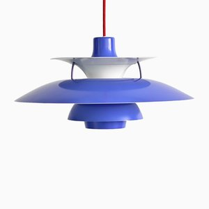 Vintage PH5 Pendulum Light by Poul Henningsen for Louis Poulsen