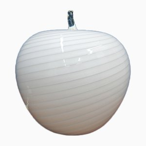 Lampe de Bureau en Forme de Pomme Vintage en Verre