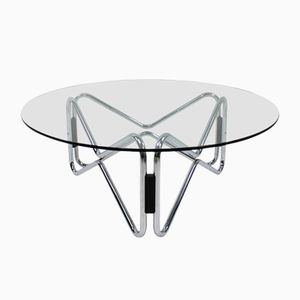 Italian Geometric Occasional Table, 1960s