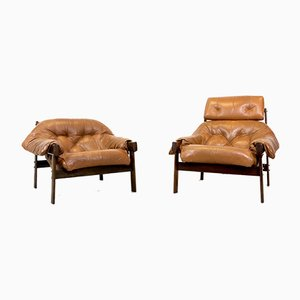 Lounge Chairs by Percival Lafer, 1961, Set of 2