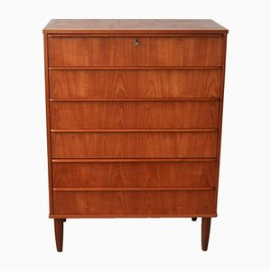 Vintage Danish Chest of Drawers, 1960s