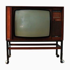 Mobile TV in palissandro di Philips, anni '60
