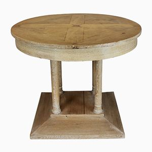 Table à Piliers en Chêne, France, 1930s